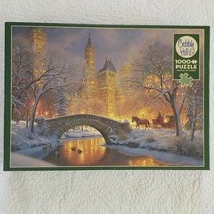 Cobble Hill 1000 Pieces- Winter in the Park Puzzle